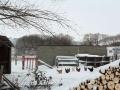 1-Matin de neige sur l'estuaire