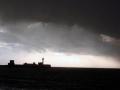 5- La digue nord par jour de tempête